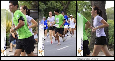Ismael Paulo Santos e Lucia Yoshie Sakurai nas corridas de Sampa - 2012 :) Runners After All