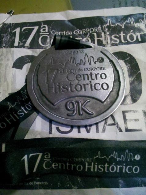 Medalha da Prova do Centro Histórico de São Paulo