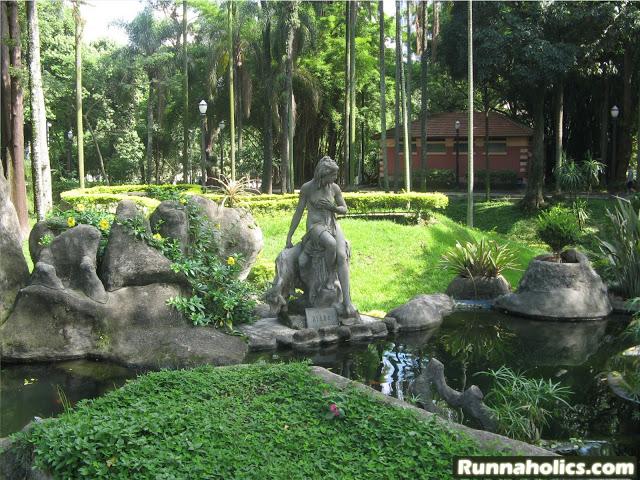 Deusa Diana - Parque da Lux