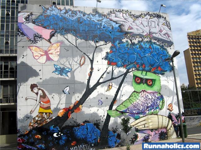 StreetArt - Praça Paulo Kobayashi - São Paulo