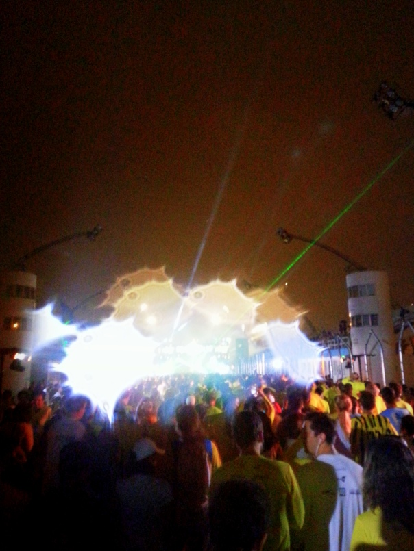 Daoravida em Night Run 2013