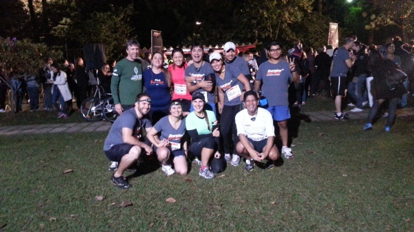 Ad Hoc Running Team - Energizer Night Race 10K 2013