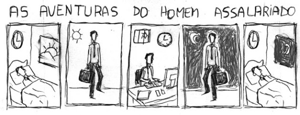 As Aventuras do Homem Assalariado