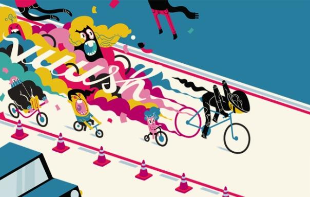 Ciclofaixa - Ciclistas experientes que não têm paciência com os iniciantes