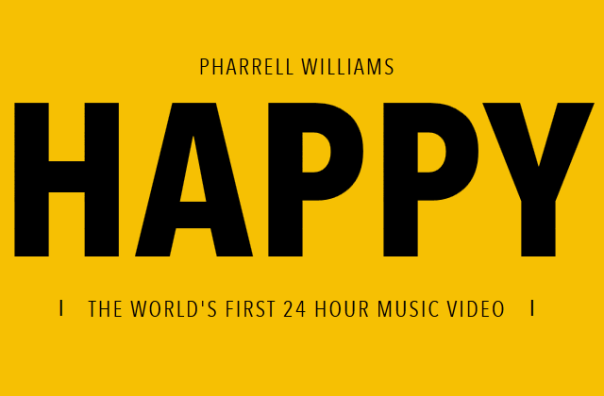 Pharrell Willians - 24 Hours of Happy