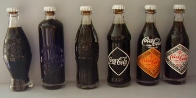 Mini Garrafinhas Coca-Cola