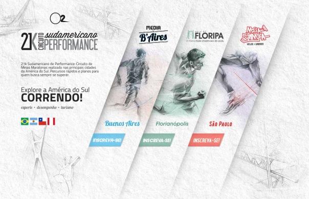 Circuito de Meias Maratonas 21k Sudamericano de Performance