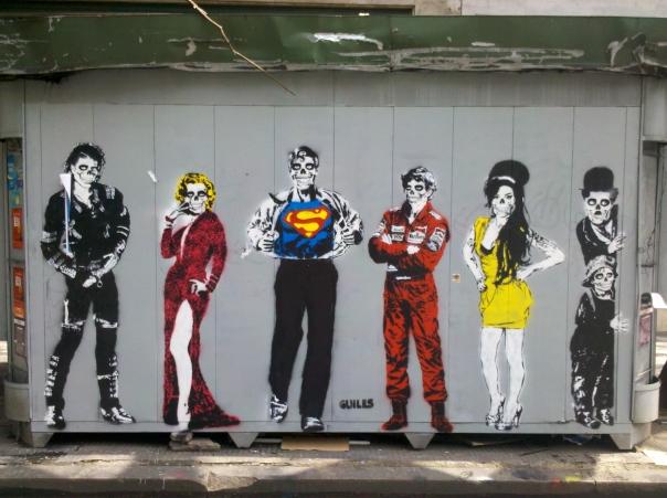 São Paulo Street Art - Dead Stars