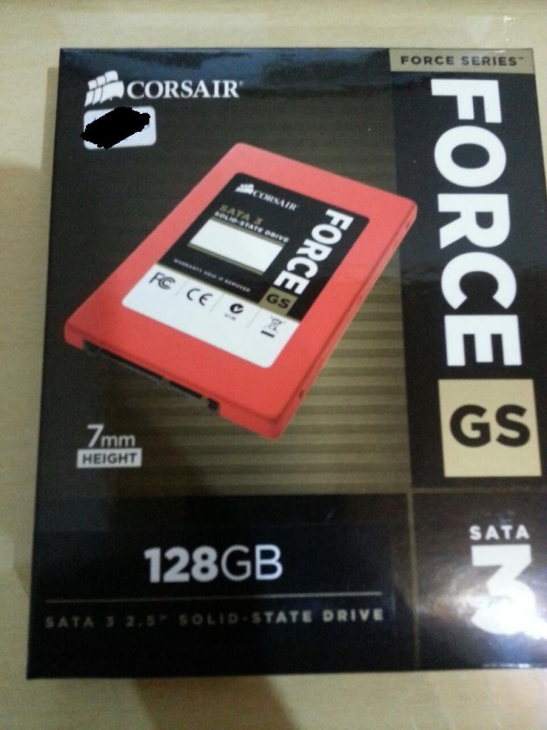 Corsair SSD 128GB Sata3 Force GS