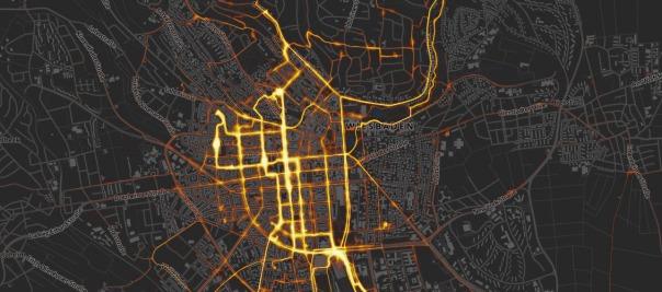 Radwende - Mapa colaborativo realizado por ciclistas