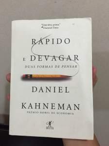 Livro: Rápido e devagar