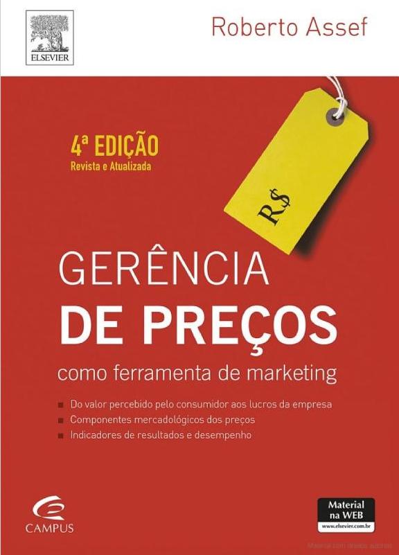 gerência de preços como ferramenta de marketing 4ª edição